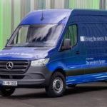 Mercedes рассказал обэлектрической версии фургона Sprinter