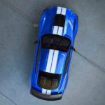 Форд опубликовали 1-ый тизер нового Mustang Shelby GT500