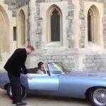 Принцу Гарри насвадьбу подарили Ягуар E-Type Concept Zero