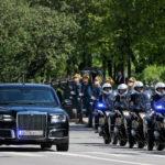 Путин приехал наинаугурацию налимузине проекта «Кортеж»— Царь-машина