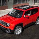 Улучшенный Jeep Renegade будет представлен через некоторое количество дней