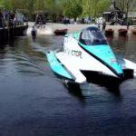 Электро-катер Ягуар Вектор V20E побил рекорд скорости наводе