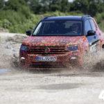 VW продемонстрировал вглобальной паутине первое видео нового Фольксваген T-Cross