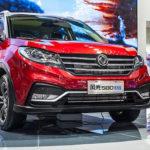Dongfeng привезет вРФ новый паркетник DFM 580