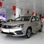 В Российской Федерации начинаются продажи нового седана Geely Emgrand 7