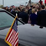 Новый лимузин Дональда Трампа «Зверь» впервый раз показали навидео